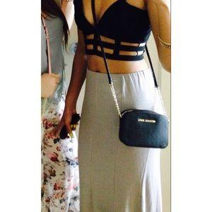Taupe Tobi Maxi Skirt M